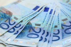 20 euro bankbiljetten Stock Foto's