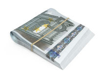 5 euro bankbiljetten royalty-vrije illustratie