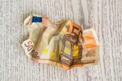 Euro banknot Zdjęcia Stock