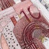 10 Euro banknot ilustracja wektor
