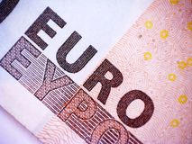 Euro banknote Stock Images