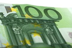 Euro banknote Royalty Free Stock Photography
