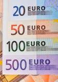 Euro banknote Stock Photos