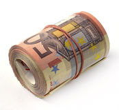 50 euro banknote Royalty Free Stock Photos