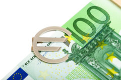 Euro banknote Stock Photos