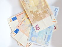 Euro banknote money Stock Images