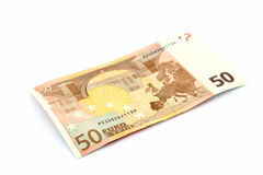 Euro Banknote Royalty Free Stock Photo