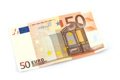 Euro Banknote Royalty Free Stock Images