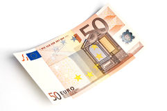 50 euro banknote Stock Image