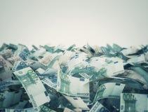 Euro Banknotenhintergrund Lizenzfreies Stockbild