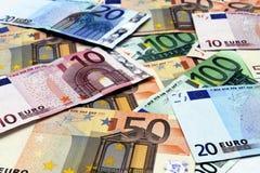 Euro Banknotes Stock Image