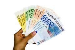 Euro banknotes. Stock Photos