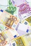 Euro banknotes Stock Photos