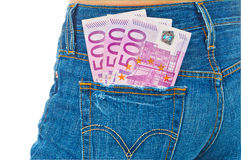 Free Euro Banknotes Royalty Free Stock Photography - 19504477