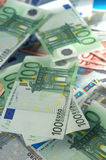 Euro banknotes Stock Photography