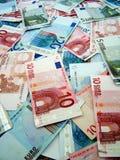 Euro banknotes. A photo of european Euro banknotes money Stock Photos