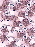 Euro banknotes background Royalty Free Stock Photography