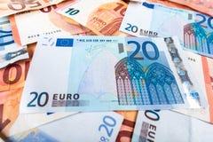 Euro banknotes Royalty Free Stock Image
