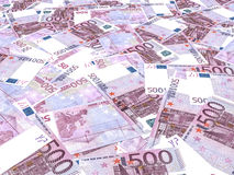 Euro banknotes background. Royalty Free Stock Photography