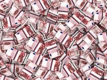Euro banknotes background. Royalty Free Stock Photo