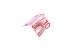 Euro banknotes close up, European currency Stock Photo