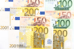 Euro banknotes Royalty Free Stock Photography