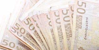 50 Euro banknotes Stock Image