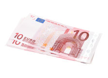 Euro banknotes closeup Stock Photography