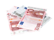 Euro banknotes closeup Royalty Free Stock Photography