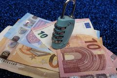 Protect your money stock photography