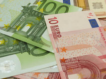 Euro banknotes Stock Images
