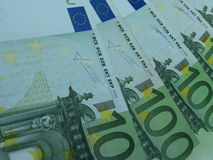 100 Euro banknotes Stock Photo