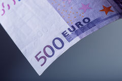 Euro Banknotes.500 euro. Five hundred euro banknotes are adjacent. symbolic photo for wealth.  royalty free stock photos