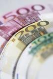 Euro banknotes money Stock Photography