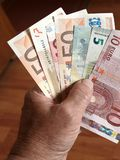 euro 2 banknotu Obraz Stock