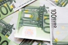 Euro banknoty Obraz Royalty Free
