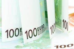 Euro banknoty Obrazy Stock