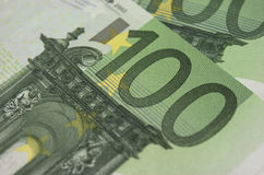 Euro banknoty Fotografia Stock