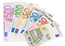 Euro bankotes Royalty Free Stock Image