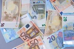 Euro-banlnotes Lizenzfreies Stockfoto