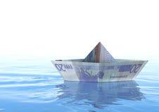 Euro barca Fotografia Stock