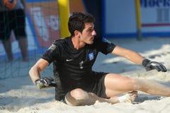 Euro Beach Soccer League Moscow 2014 Royalty Free Stock Photography