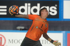 Euro Beach Soccer League Moscow 2014 Royalty Free Stock Photography