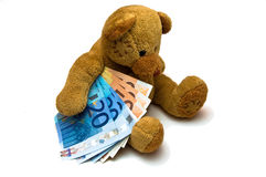 Euro Bear Royalty Free Stock Photo