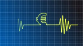 Euro beat Stock Image