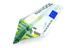 Euro bill Stock Images