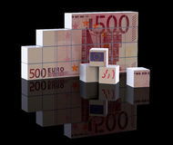 The euro bill Royalty Free Stock Image