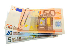 Euro billets de banque Photos stock