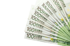 100 euro billets de banque Photo stock