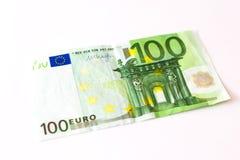 100 euro billets de banque Photographie stock libre de droits